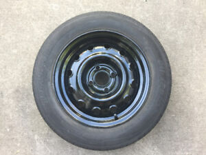 "One 14"" Tire and Rim For Sale"