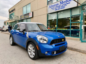 2011 MINI COOPER S COUNTRYMAN-ALL WHEEL DRIVE-TOP OF THE LINE!