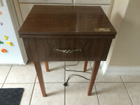 Vintage Viking Embroidery Sewing Machine w/ Table - #564