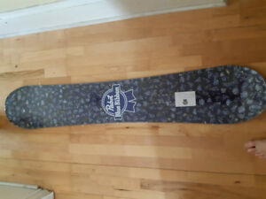 Pabst Blue Ribbon Snowboard