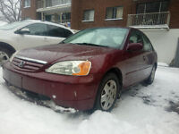 2002 Honda Civic Sedan Nego