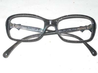 $460 AUTHENTIC CHANEL GRAY GLITTER TWEED BOW EYEGLASSES 3211 c.1263 51016 (Chanel Bow Eyeglasses)