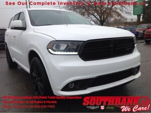 2017 Dodge Durango GTBLACKTOP, LEATHER, NAVIGATION, SUNROOF, DUA
