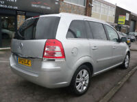 2012 Vauxhall Zafira 1.7CDTi 16v ecoFLEX ( 125ps ) Design 62REG Diesel Silver