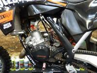 KTM SX 125 Motocross Bike