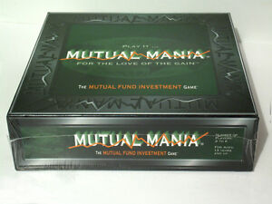 Mutual Mania Investment Fund Game - New/Sealed Vintage