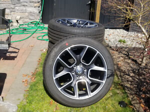 """22"""" TAKE OFFS  DODGE RAM 1500 WHLS & GY EAGLE TIRES TPMS"""