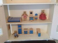 Wall Mounted dolls house