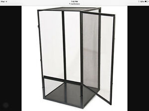 Reptibreeze screened cage
