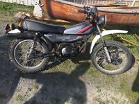 Yamaha dt100 ms 1983 street and trail