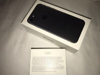 Apple iPhone 7 128GB matte black 1 day old