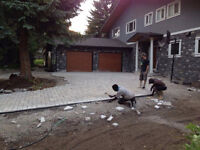Patios and walkways!  Quality service at competitive tmrates