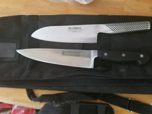 Global & Soligen Chef Knives