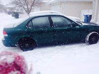 1999 Acura el just safetied! Like new winter tires! 2600 obo!