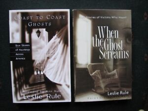 Two Ghost Books by Leslie Rule