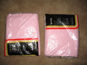 Texmade Truprest II pink double bed fitted bed sheet