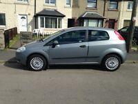 Fiat Punto Grande 2006 Turbo Diesel £30 a yr Road Tax