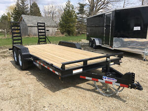 7x18      14k Implement trailer Kitchener / Waterloo Kitchener Area image 1