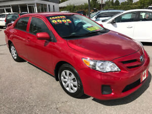 2011 Toyota Corolla CE SEDAN...PERFECT CONDITION.