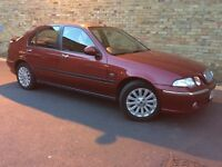 DIESEL - 2004 ROVER 45 - ONLY 66,000 MILES - SUPERB EXAMPLE