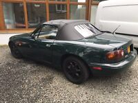 MAZDA MX5 EUNOS ROADSTER CONVERTIBLE AUTOMATIC FULLY LOADED MOT 1 YEAR Px