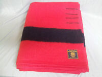 Early's Witney Point Blanket - 4 point Red with Black stripe