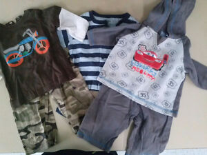2 pc outfits 12 mnths