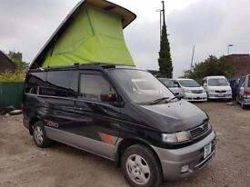 MAZDA BONGO LIFTING TOP, 1996, 2.5 DIESEL, 4X4 129000 MILES, AUTOMATIC IN BLACK