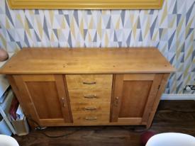 Next Solid Wood Sideboard