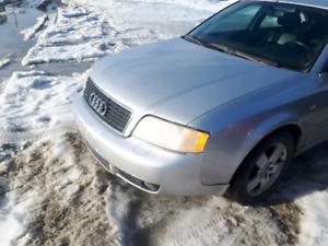 Audi a6 2002 3.0 part out