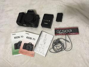 Canon 7D à vendre