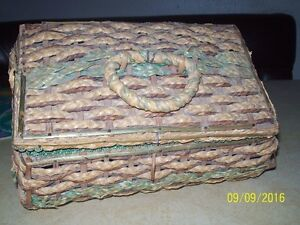 Antique Sewing Box Prince George British Columbia image 1