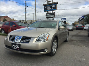*VERY LOW KMS*LOADED*2006 Nissan Maxima 3.5 SL Sedan