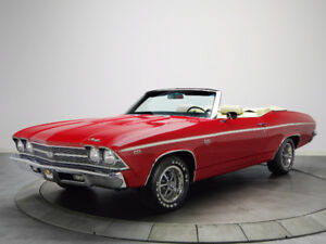 WANTED: 1969 Chevelle Convertible Rolling Chassis