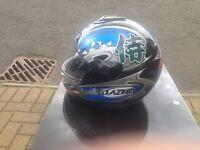Motorbike helmet / go kart helmet