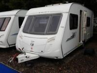2009 Swift Charisma 550 4 Berth Fixed Bed End Washroom Caravan