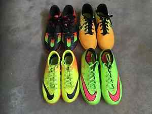 Indoor / turf soccer cleats size  4, 4.5 and 5 $20 - $35/pair