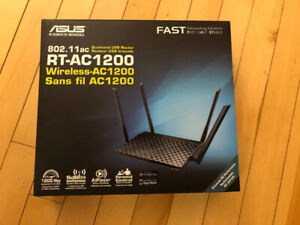 ASUS  RT-AC1200 Dual-band USB Wireless Router WIFI