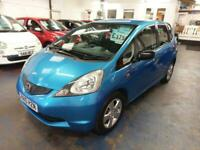 HONDA JAZZ 1.2 SE LOW MILES MET BLUE FSH 2 OWNERS ONLY 62K MILES ECONOMICAL 2010
