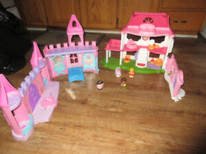little people doll house and palace