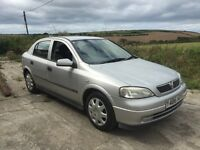 VAUXHALL ASTRA CLUB 1.6 8V SILVER 5DR 2001 1 OWNER