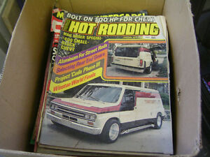 OLD CAR MAGAZINES 1970s & 80s HOT ROD CLASSIC STREET +++