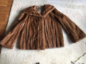 Women's mink coat