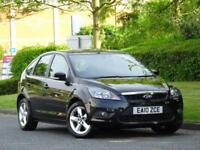 Ford Focus 1.6 2010 Zetec BLACK + 1 OWNER + FULL SERVICE HISTORY + 2 KEYS