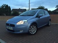 2006 FIAT PUNTO GRANDE DYNAMIC 1.2 WITH 1 YEARS MOT