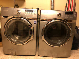 Washer and dryer for sale 5 yers old in good wercking order