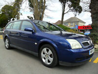 VAUXHALL VECTRA ESTATE 1.8 2004 COMPLETE WITH M.O.T HPI CLEAR INC WARRANTY