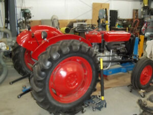 I am a Massey 35 HP Tractor and I need a good home to go to!