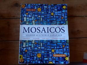 Used Textbook: Mosaicos Spanish as a World Language 6e