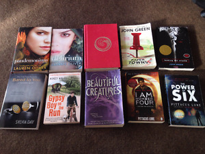 10 Various Y.A. Books